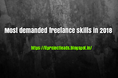 Most demanded freelance skills in 2018