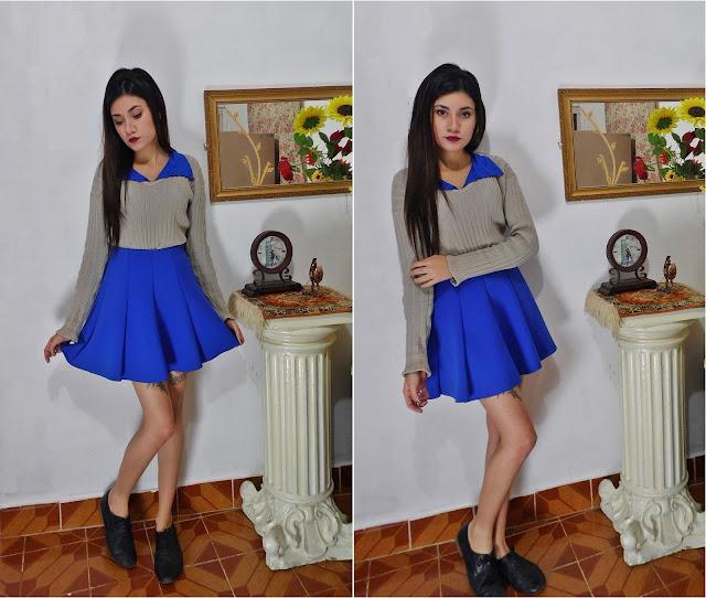 saia azul