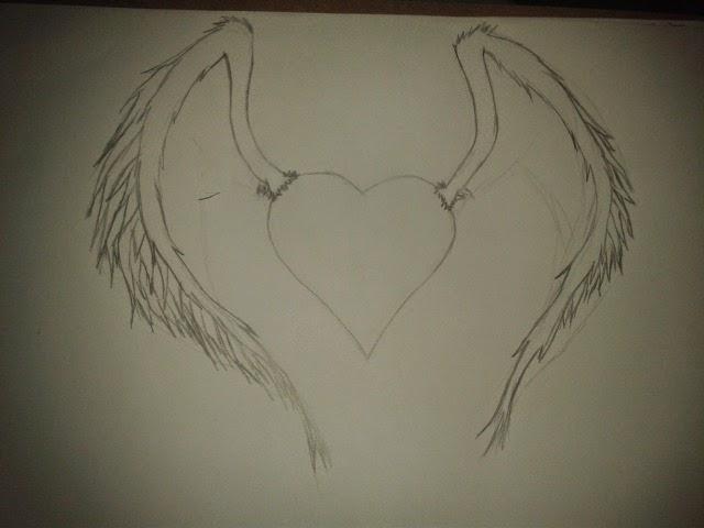 Dibujos Y Música : Corazón Con Alas