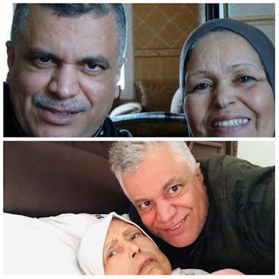 وفاة والدة الفنان محمد الخياري