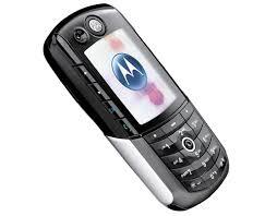 Spesifikasi Handphone Motorola E1000