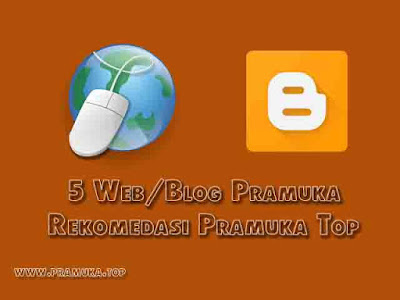 Situs web/blog pramuka terbaik