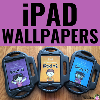 Looking for iPad storage solutions for your classroom? I have a super-cheap iPad storage solution that is perfect for the classroom, even when your iPads have chunky, kid-friendly cases! Take a look at this post, and grab a freebie while you're there!