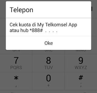 Kode dial *889# Telkomsel sudah tidak berlaku
