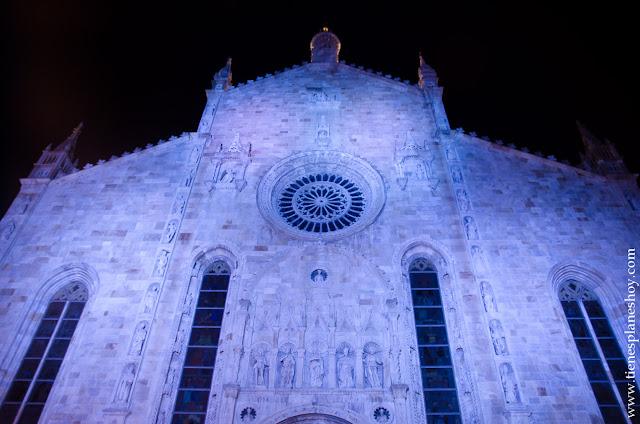 Catedral Duomo por la noche
