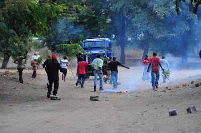 Violence In Kenya Following Kenyatta's Victory