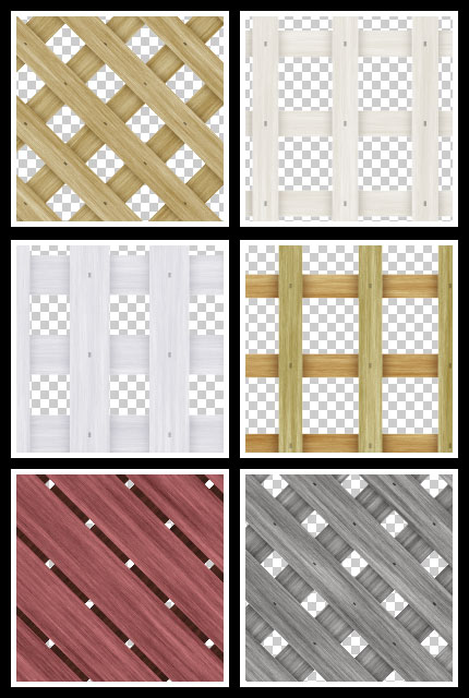 Preview of Free Wood Lattice Seamless Tiling Patterns