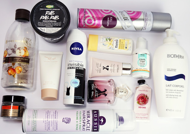Aufgebrauchte Kosmetik - Jänner 2017 Skincare, Beauty, Beautyblog, Leer, Empties