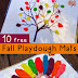 Fall Playdough Mats & Other Fall Activities