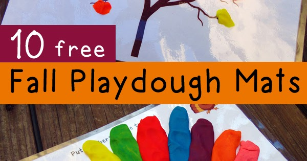 Fall Playdough Mats Amp Other Fall Activities Totschooling