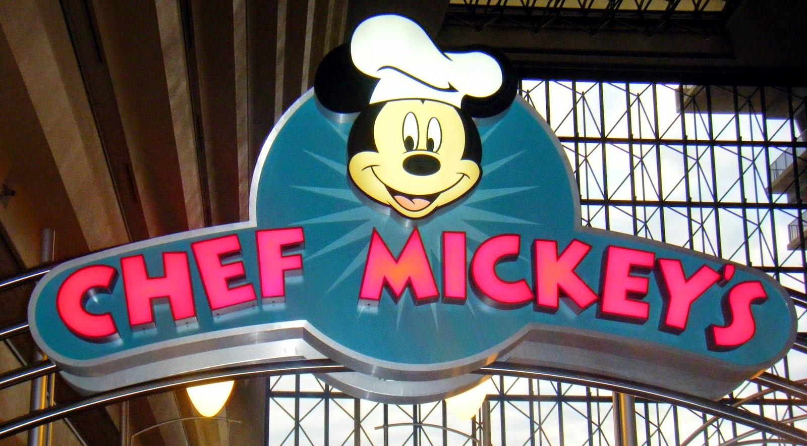 Restaurante Chef Mickey's da Disney em Orlando