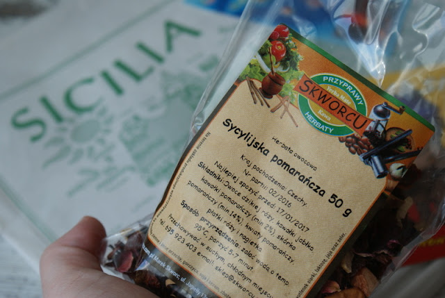 skworcu,sycylijska pomarańcza,cytrusy,dolce vita,sycylia,pomarancze,herbata,dieta,odchudzanie,miód lesny,miód
