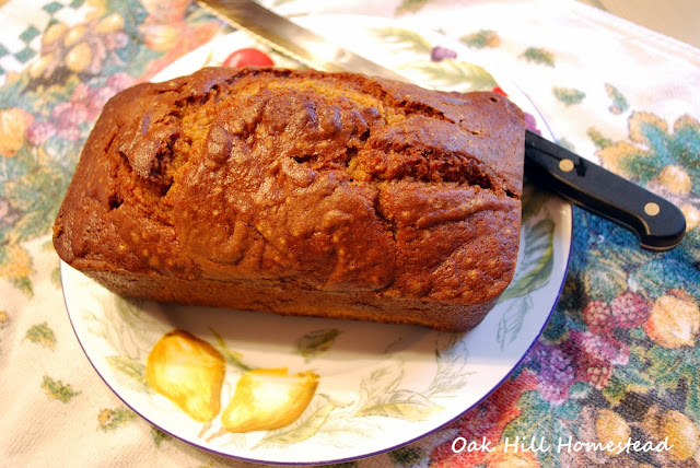 My mother's pumpkin bread recipe - Around the Harvest Table