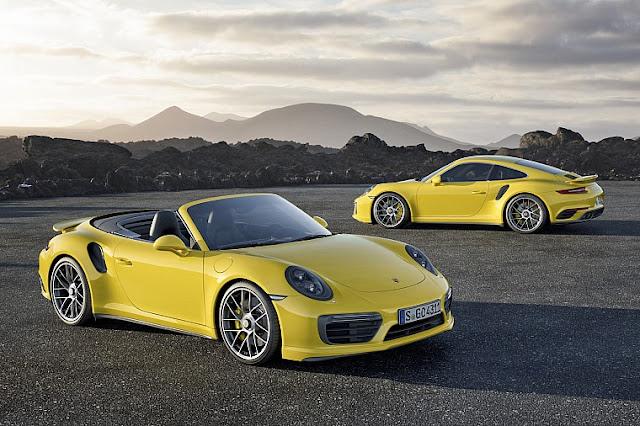 новые Порше 911 Turbo и Turbo S
