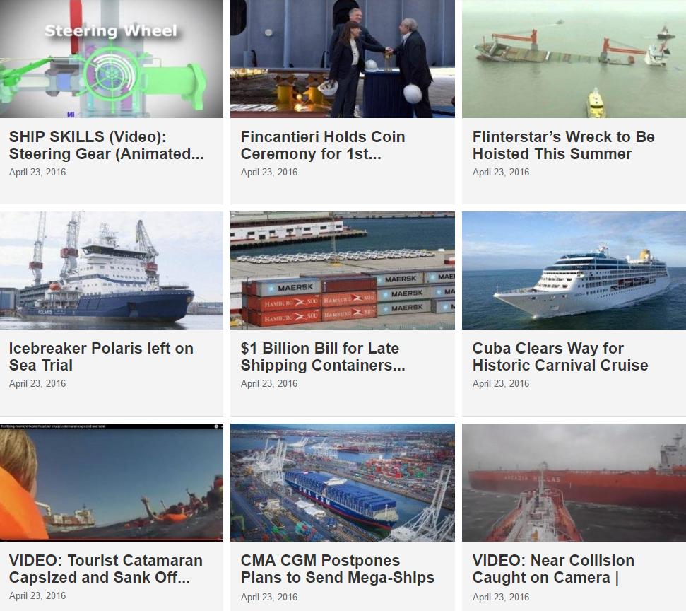Maritime News 23 April 2016