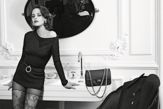 Kristen Stewart estrela campanha Paris in Rome da Chanel