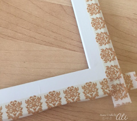 step by step tutorial to update a picture frame