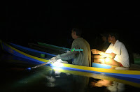 Panen Siluk di Danau Empangau
