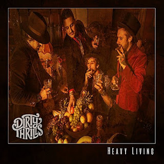 "Dirty Thrills - ""Drunk Words"" (audio) from the album ""Heavy Living"""