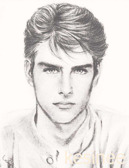 My drawing-Tom Cruise