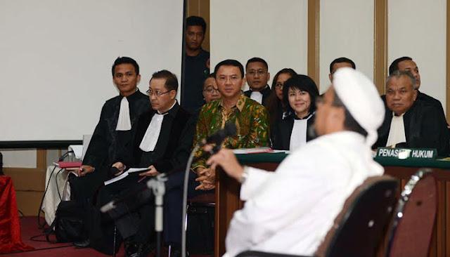 Di Persidangan, Habib Rizieq Beberkan 6 Kesalahan yang Dilakukan Ahok di Kepulauan Seribu