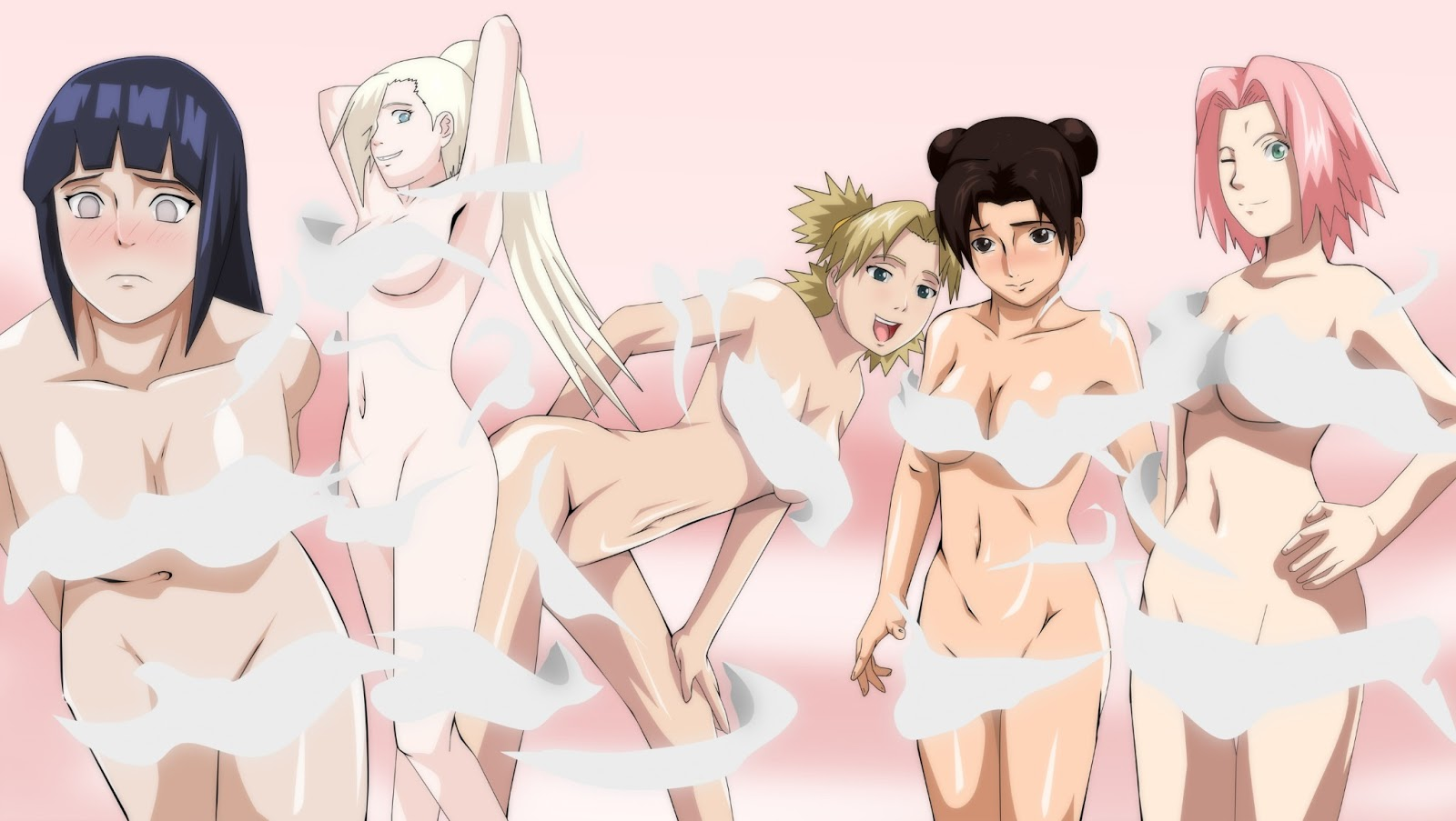 sexy hot Sakura naruto girls