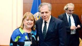 La canciller argentina llamó al secretario general de la Organización de Estados Americanos tras la publicación en Twitter de la carta que el uruguayo le mandó a la líder de la Tupac Amaru.