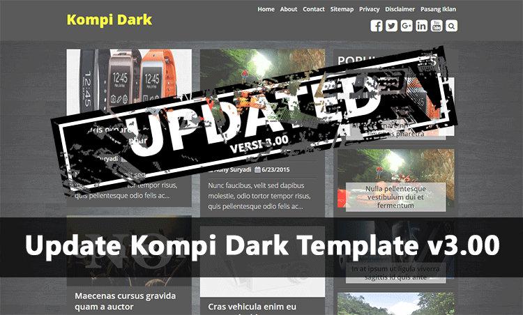 Update Kompi Dark Template v3.00