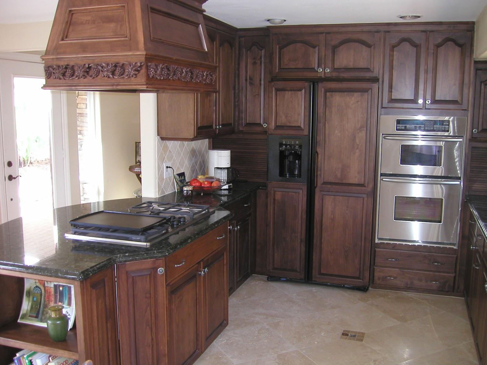 HOME DESIGN IDEAS Oak Kitchen Cabinets Design Ideas