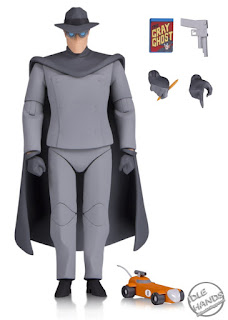 SDCC 2018 DC Collectibles Batman The Animated Series Gray Ghost Action Figure