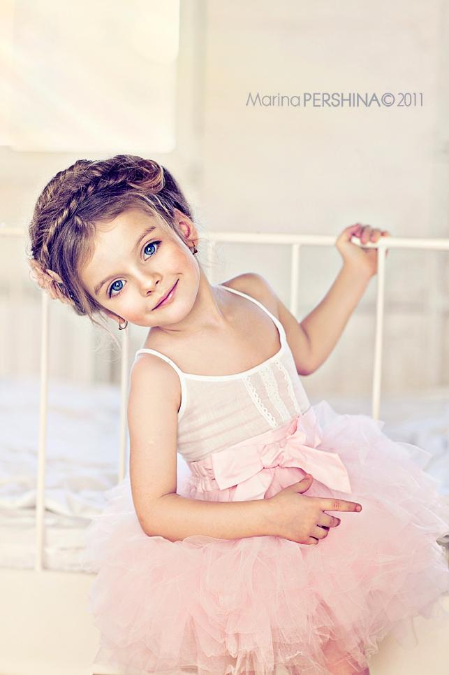 Little Girls Hairdos: Ballerina Hair and Fashion