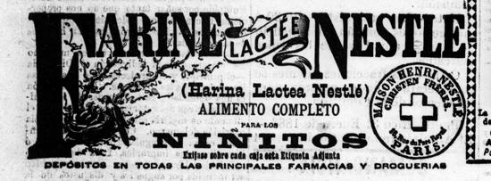 Nestlé advertisement 1888