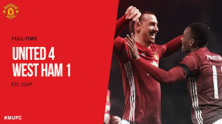 Manchester United vs West Ham 4-1 Video Gol & Highlights