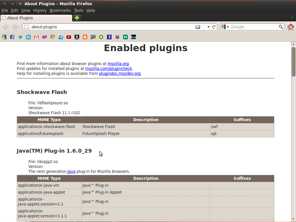 I hope this article usefull for who can't enable java plugin on firefox .