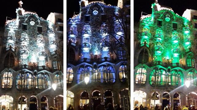 Au cœur de la Casa Batlló de Gaudi à Barcelone