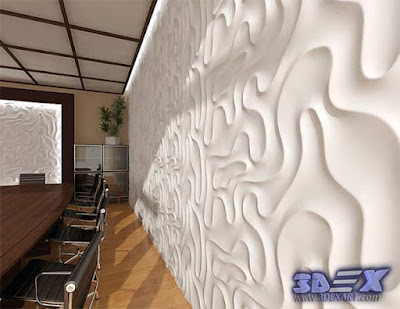 3d decorative wall panels, Modern 3d wall panels, 3d gypsum wall