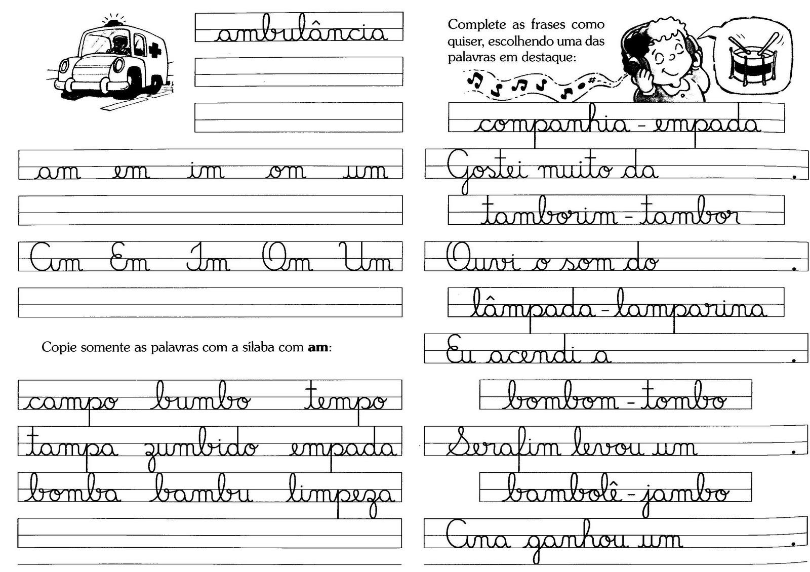 Frases Para Caderno De Caligrafia