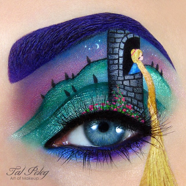 10-Rapunzel-Tal-Peleg-Body-Painting-and-Eye-Make-Up-Art-www-designstack-co