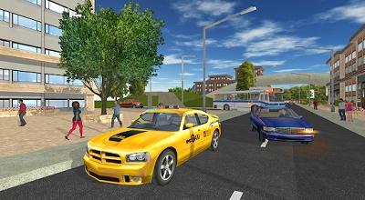 game simulasi taksi android