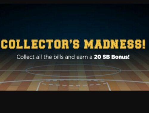 Swagbucks March Madness Collector's Bills