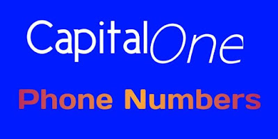Capital One Customer Service Phone Number, Capital One Customer Services Number
