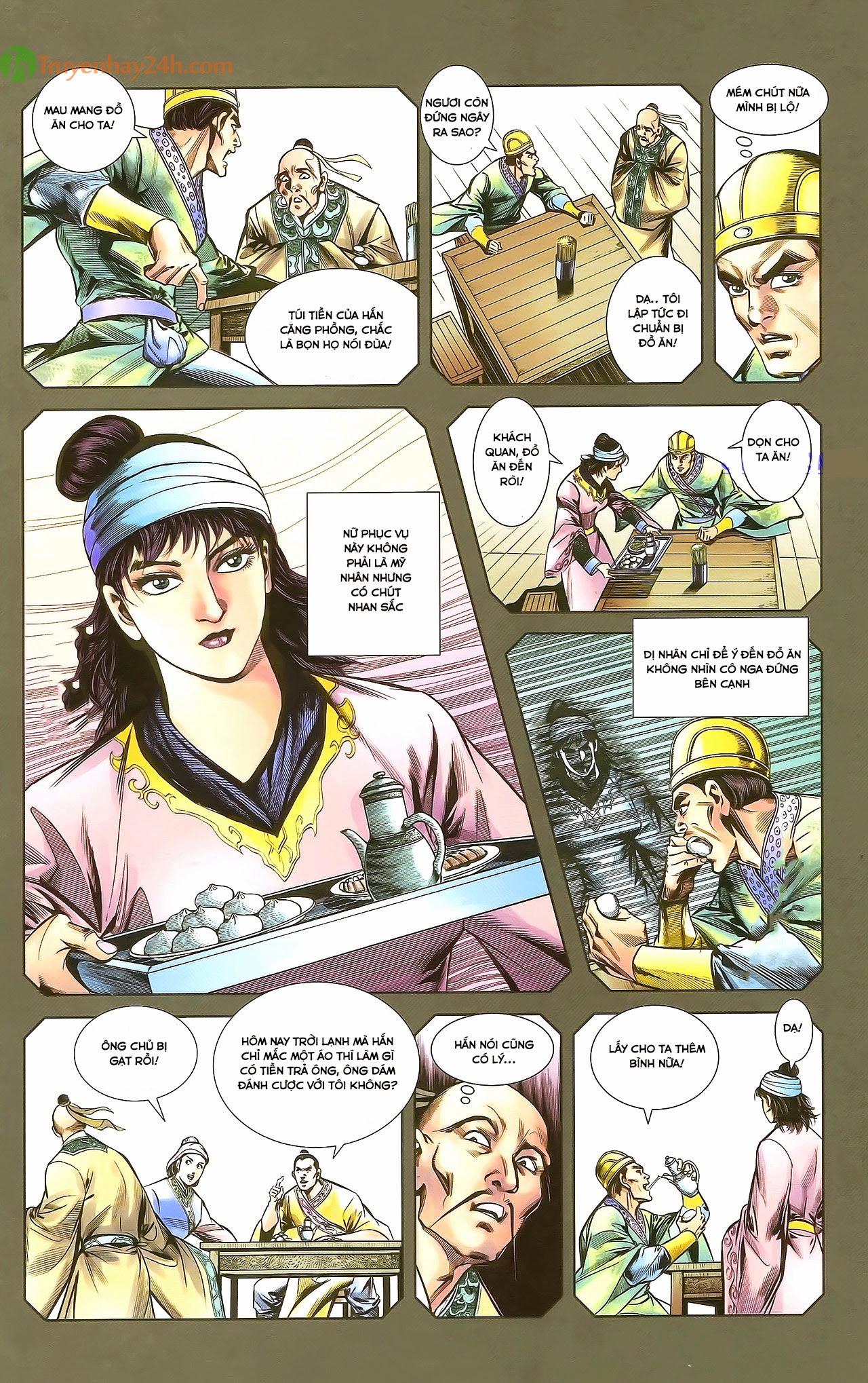 Tần Vương Doanh Chính chapter 29.1 trang 10