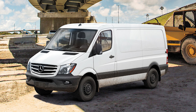 2016 Mercedes-Benz Sprinter Worker White