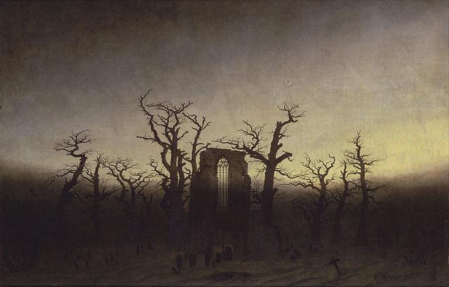 Abadía en el robledal – Caspar Friedrich
