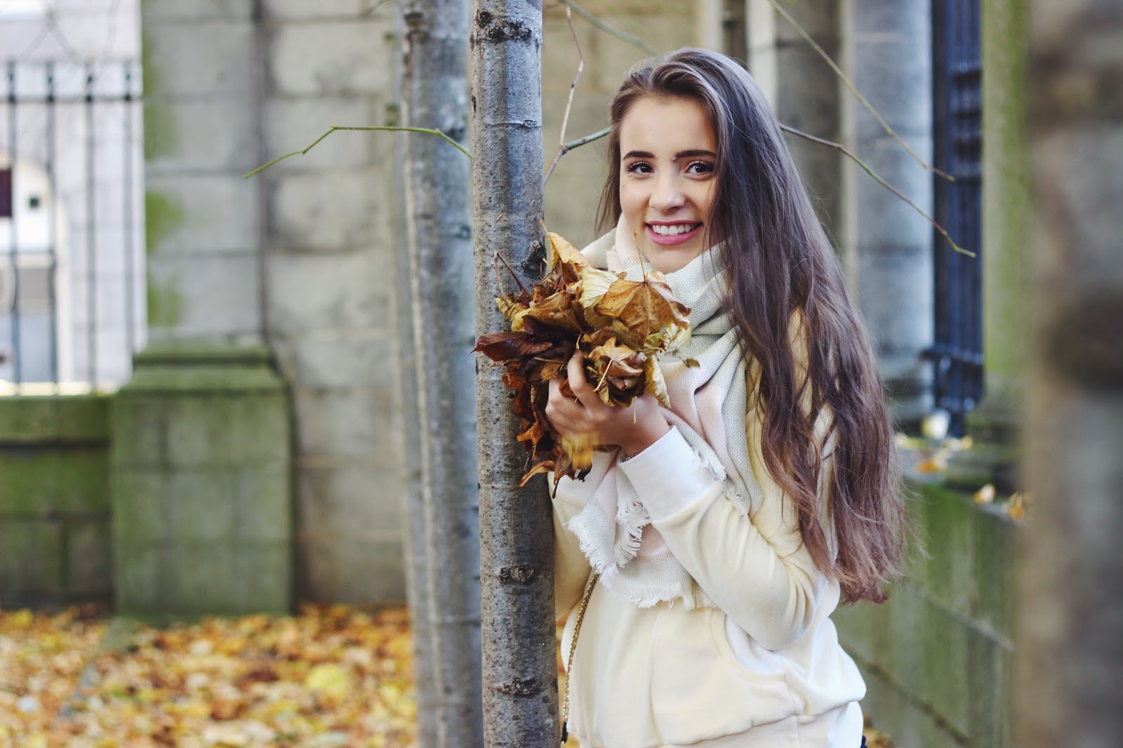 Autumn Leaves Photoshoot