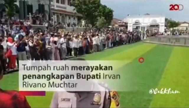 Bupati Kader Nasdem Ditangkap KPK, Warga Cianjur Syukuran di Alun-alun, 2019 Syukuran di Monas?