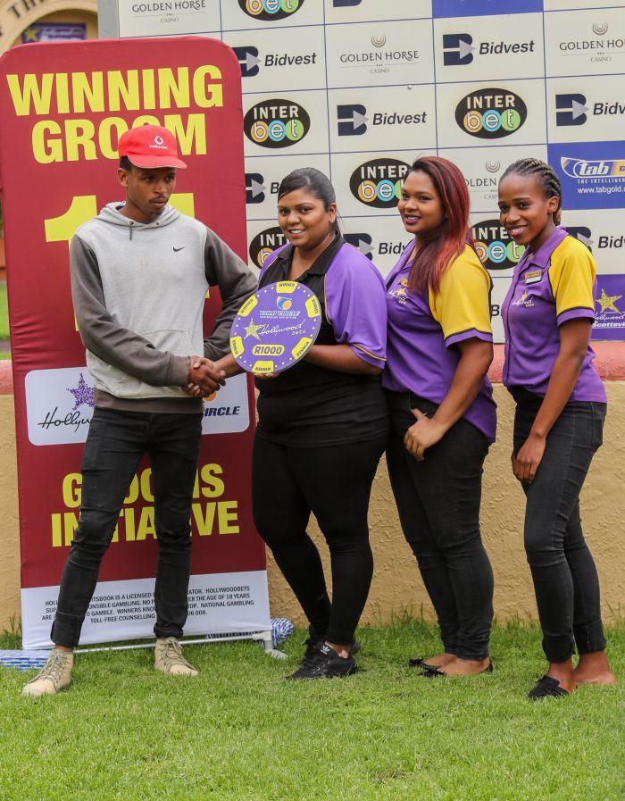 Grooms Initiative Winner - 15th December 2019 - Race 1 - Vusi Zukulu - SOLID GOLD