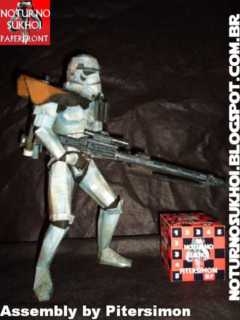 Star Wars Sandtrooper Papercraft