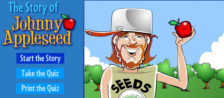 Great Johnny Appleseed Video Quiz For Kids