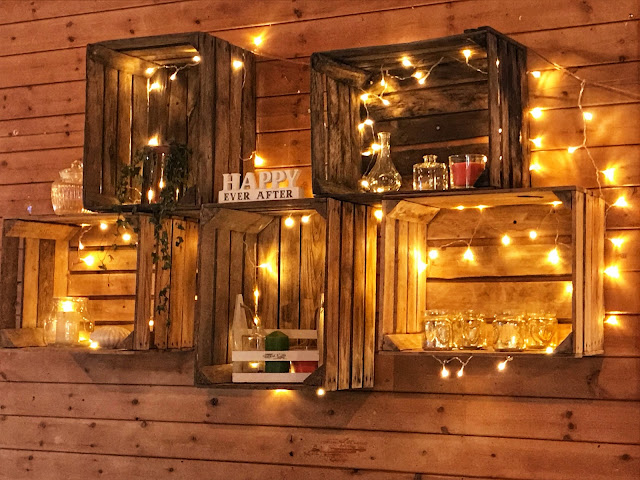 Ambient home decor with fairy lights